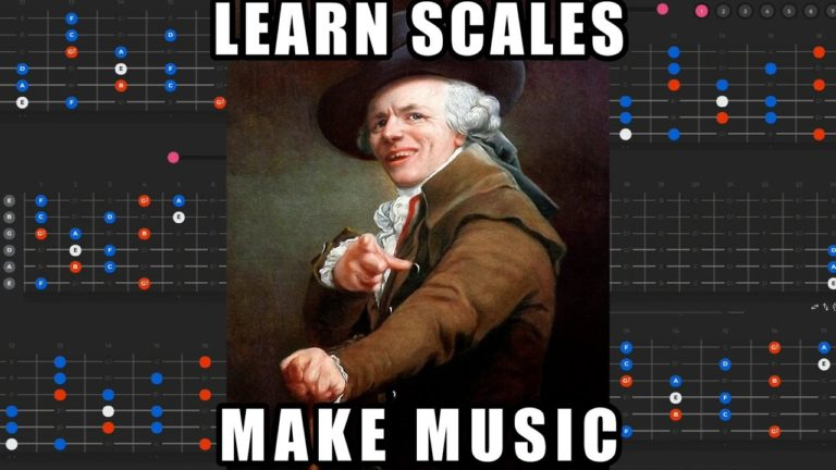 The BEST Way to Learn Scales and Make Music [Composing with Bebop Dominant]