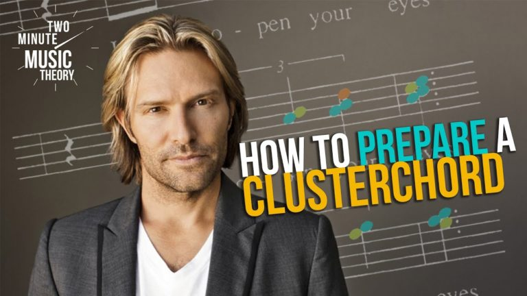 How Eric Whitacre Prepares A Clusterchord – Two Minute Music Theory