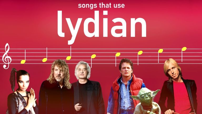 Songs that use the Lydian mode